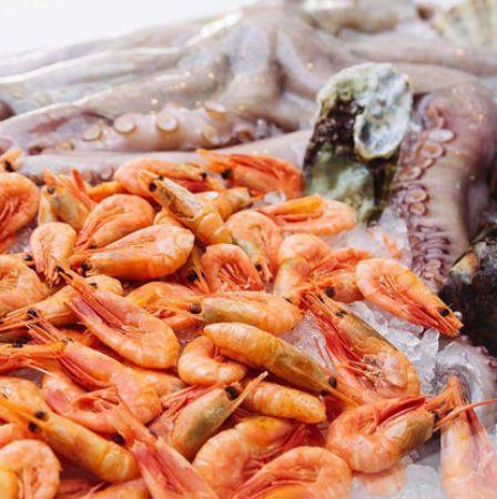 صورة لقسم سمك مجمد