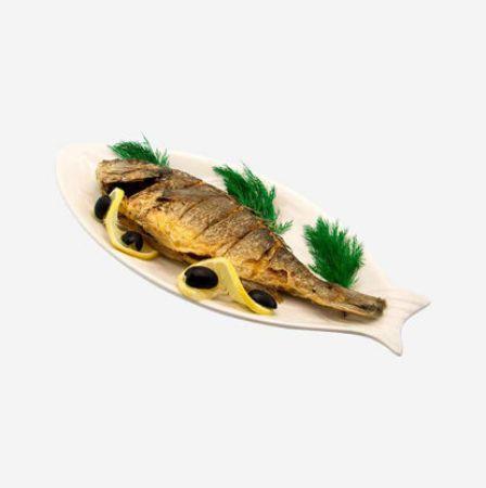 صورة لقسم السمك المجفف